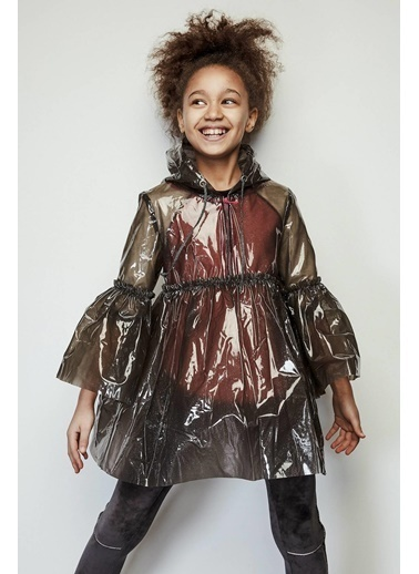 Lia Lea Kız Çocuk Gri Mont Gri